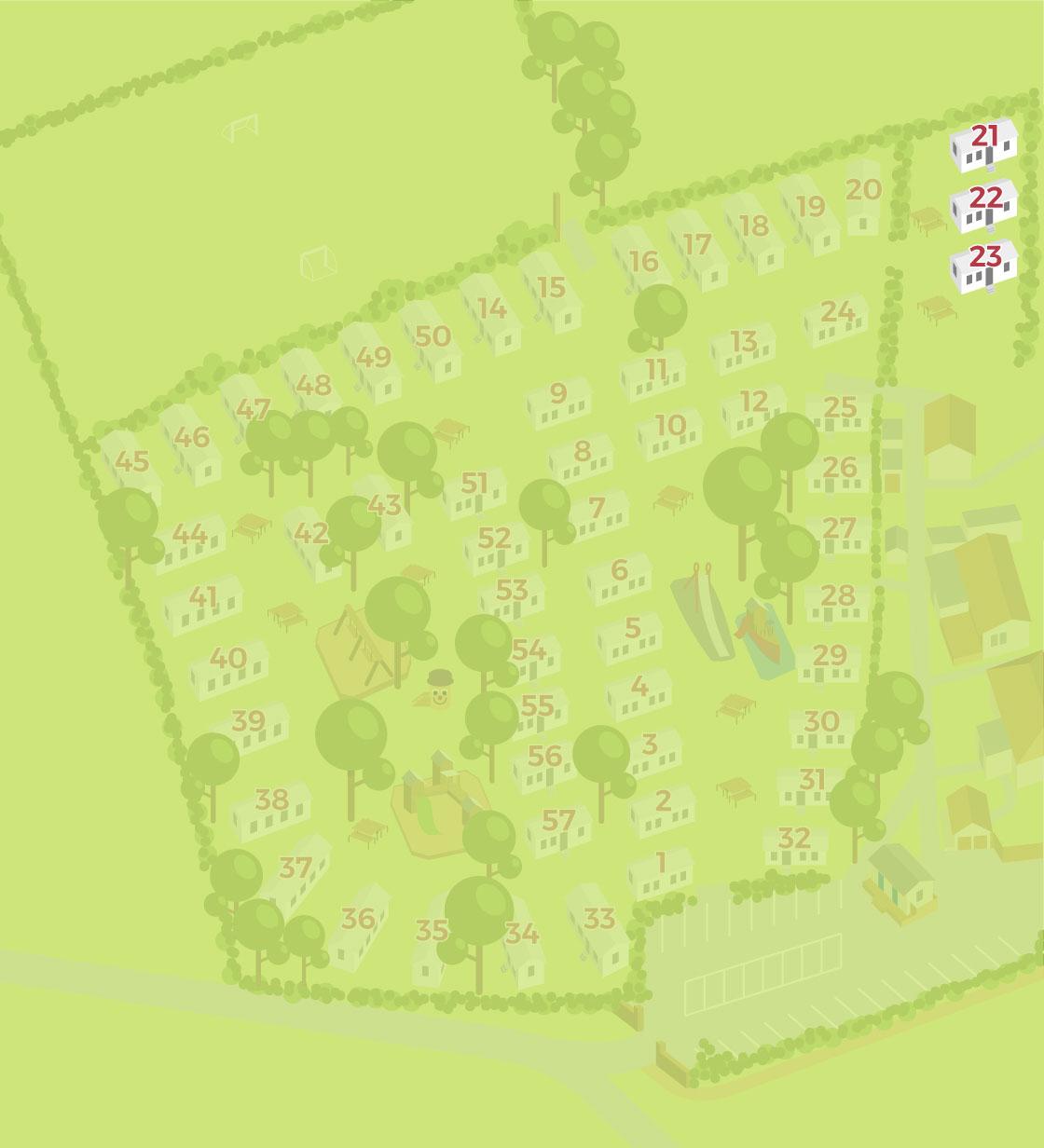 Cheverton Copse Hampshire Layout