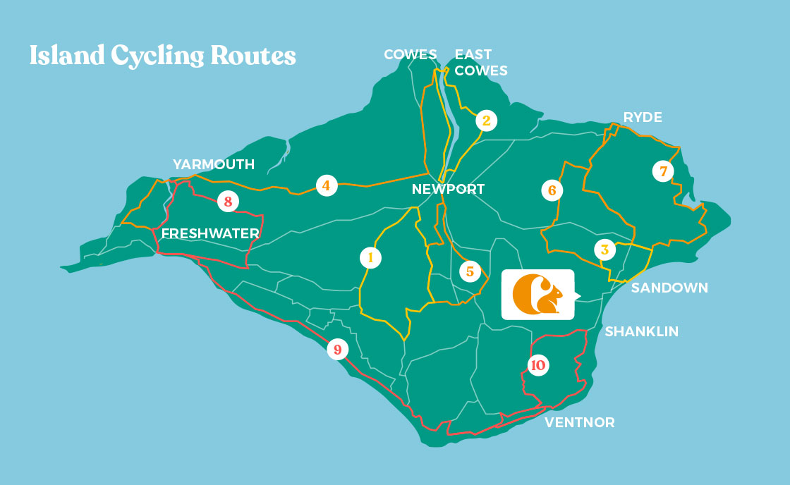 Isle of Wight Cycling Routes