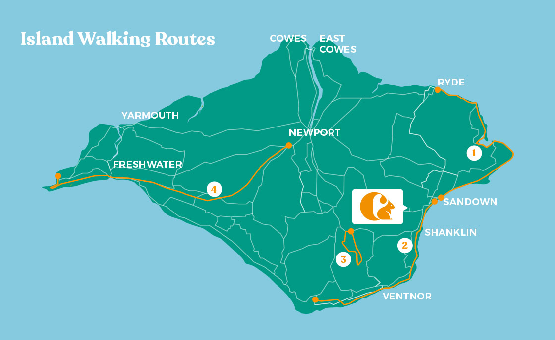 Walking Routes Map